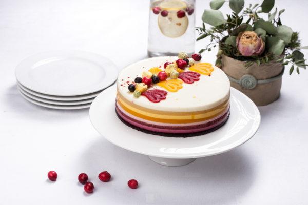 Nekeptas tortas ''Vaivorykštė''