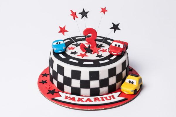 """Vaikiškas tortas """"Makvyno herojai"""""""