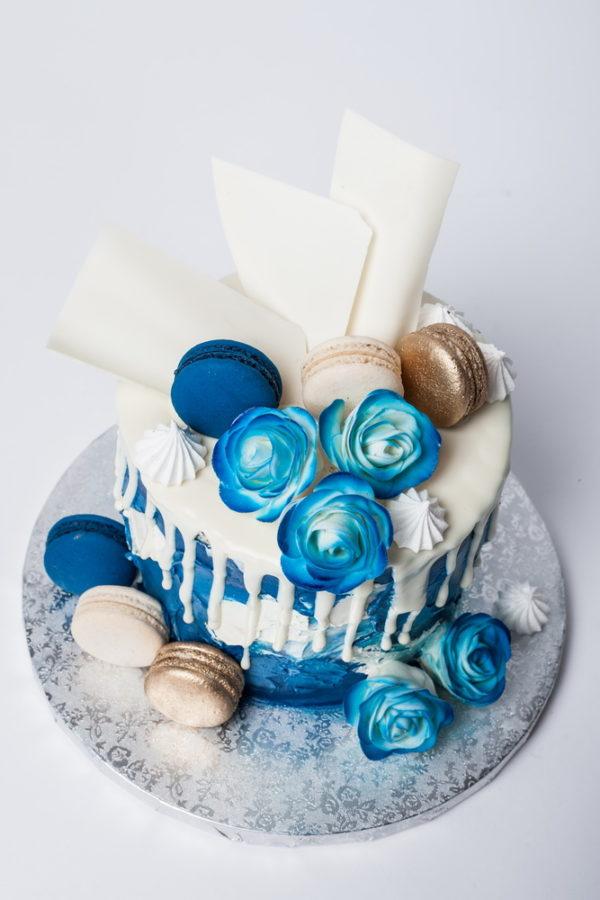 "Tortas ""Mėlyna fantazija"""