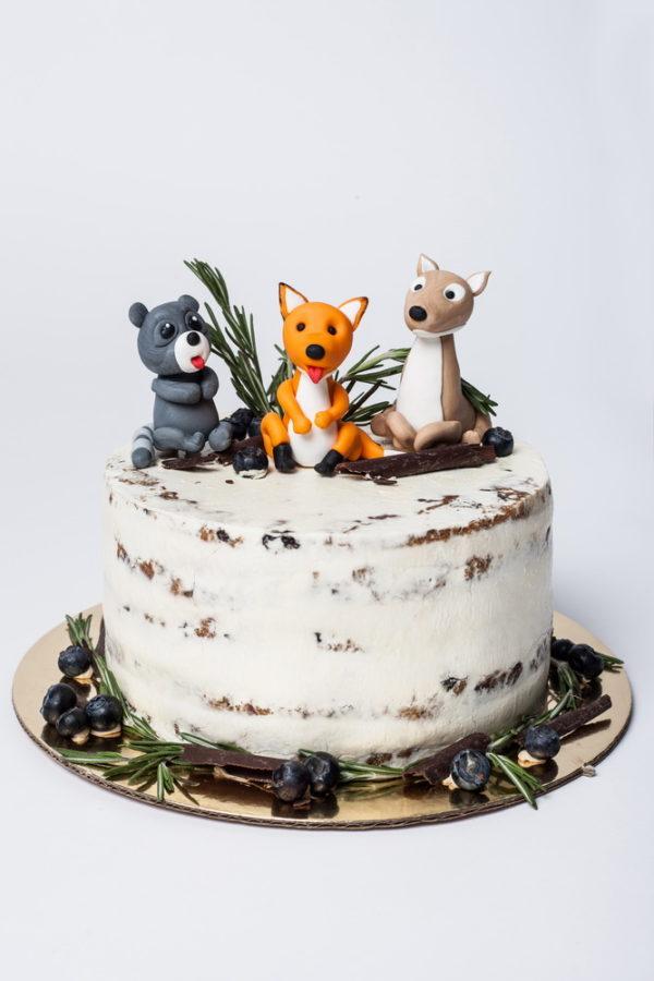"""Vaikiškas tortas """"Trys draugai"""""""