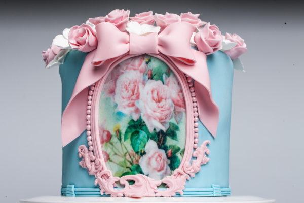 """Tortas """"Gėlių dėžutė"""""""