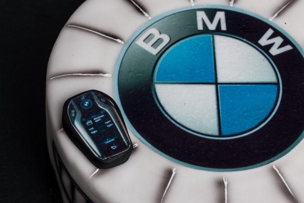 "Vaikiškas tortas ""BMW"""