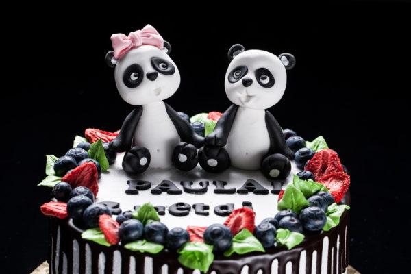 """Vaikiškas tortas """"Du pandukai"""""""