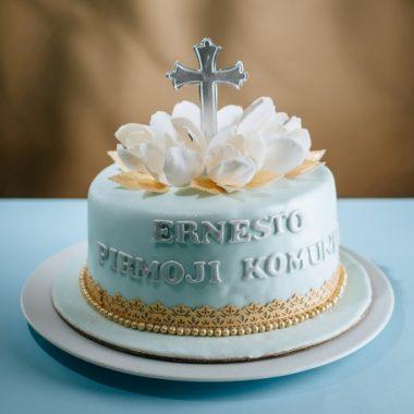 """Krikštynų tortas """"Traukinukas"""""""