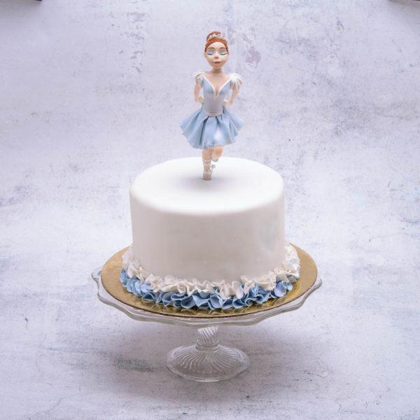 "Vaikiškas tortas ""Balerina"""