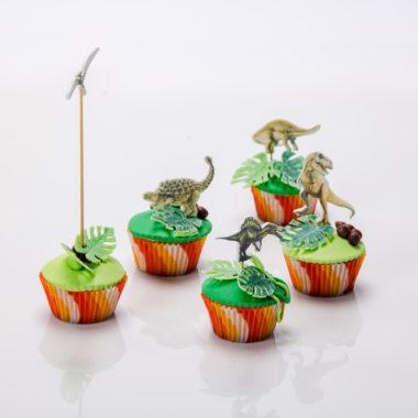 Dinozaurų keksiukai