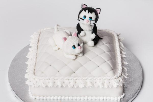 """Tortas """"Katinų vestuvės"""""""
