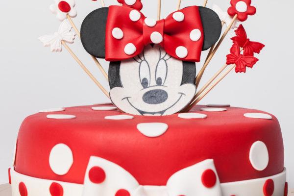 Vaikiškas tortas su Minnie