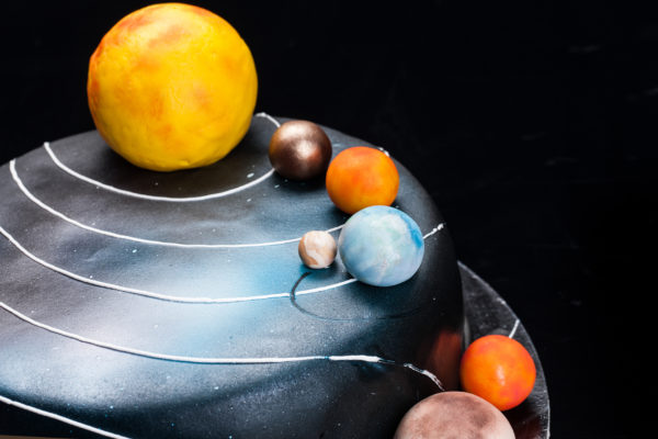 """Vaikiškas tortas """"Kosmosas"""""""