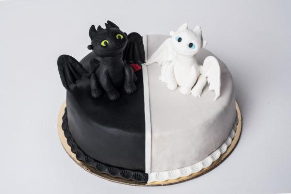 """Vaikiškas tortas """"Slibinų"""""""
