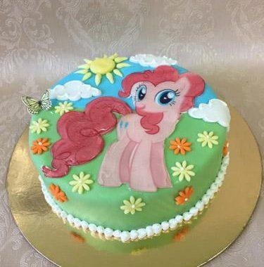 """Vaikiškas tortas """"Ponis"""""""