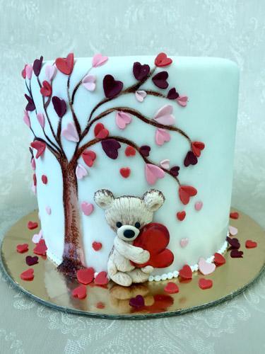 "Tortas ""Meilės dienos belaukiant"""