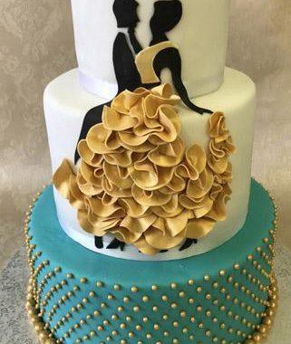 """Tortas """"Šokėjų pora"""""""