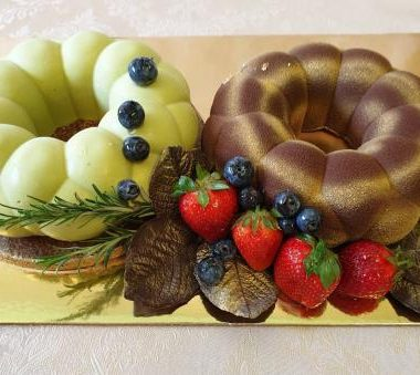"""Tortas """"Forminiai žiedai"""""""