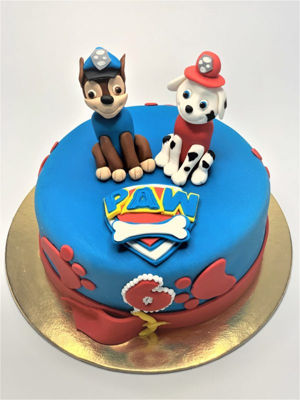 """Vaikiškas tortas """"Šunyčiai patruliai"""""""
