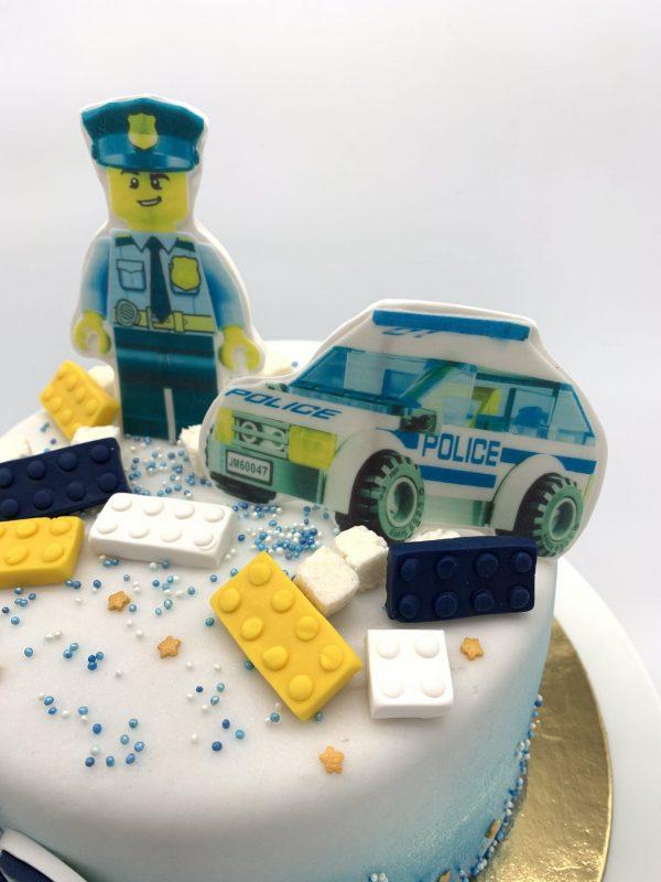 """Vaikiškas tortas """"Policija"""""""