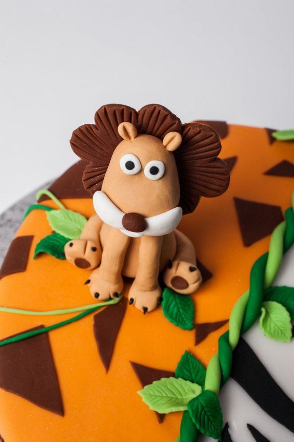 """Vaikiškas tortas """"Džiunglės"""""""