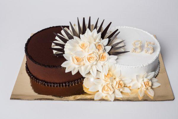 """Tortas """"Sujungtas su rožėm"""""""