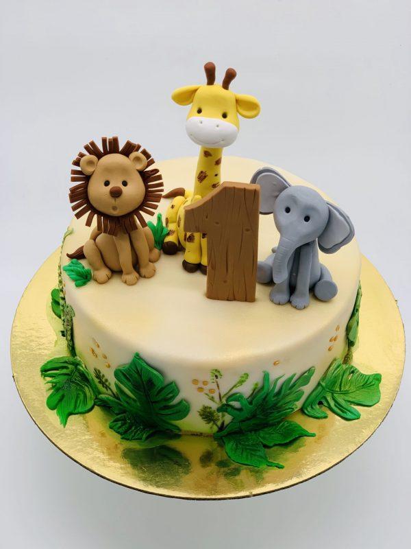 """Vaikiškas tortas """"Zoo"""""""