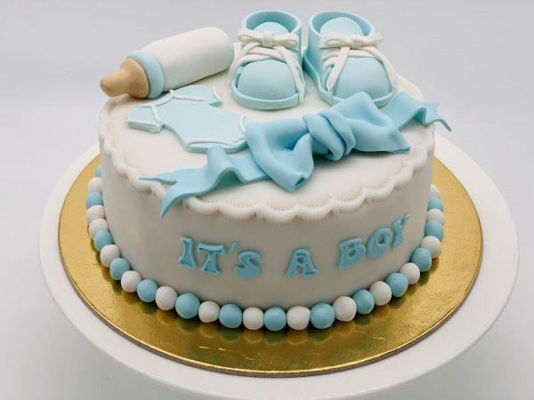 Kūdikio sutiktuvių tortas
