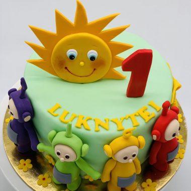 """Vaikiškas tortas """"Teletabiai"""""""