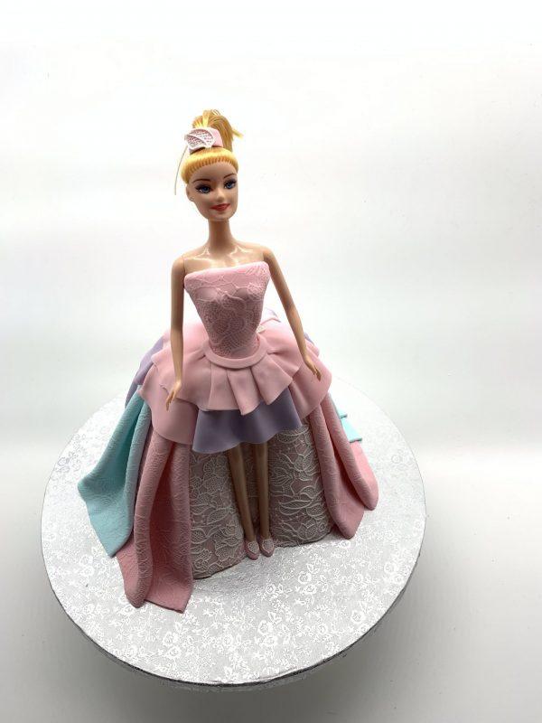 """Vaikiškas tortas """"Barbė"""""""