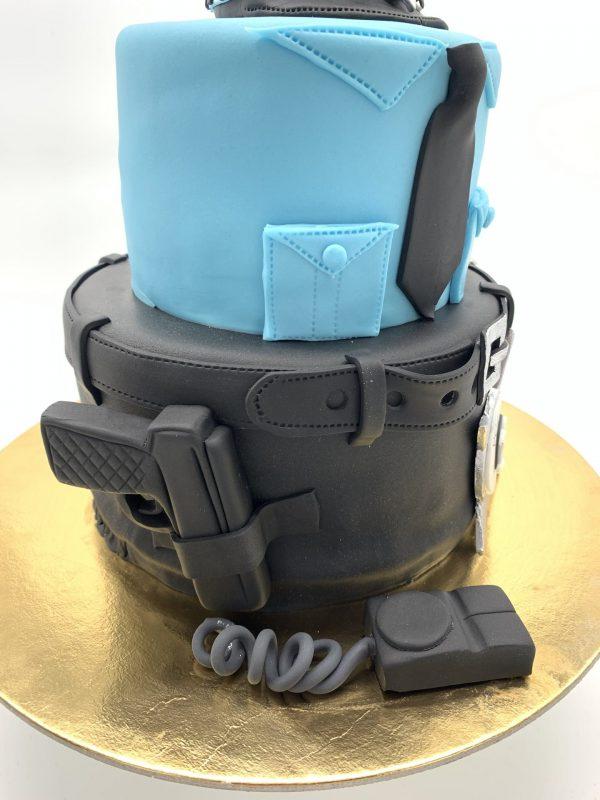 3 aukštų Policijos tortas