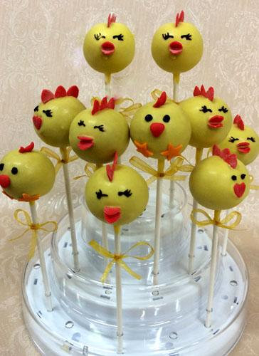 "Pop cakes ""Viščiukai"""