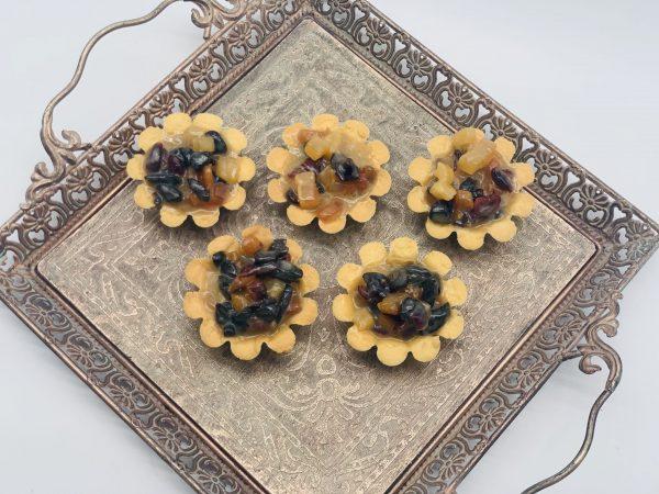 Karamelinukai su vaisiais