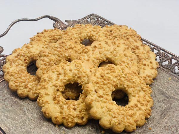 """Sausainiai """"Trapūs žiedai su riešutais"""""""