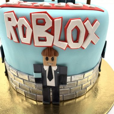 """Vaikiškas tortas """"Roblox 2"""""""