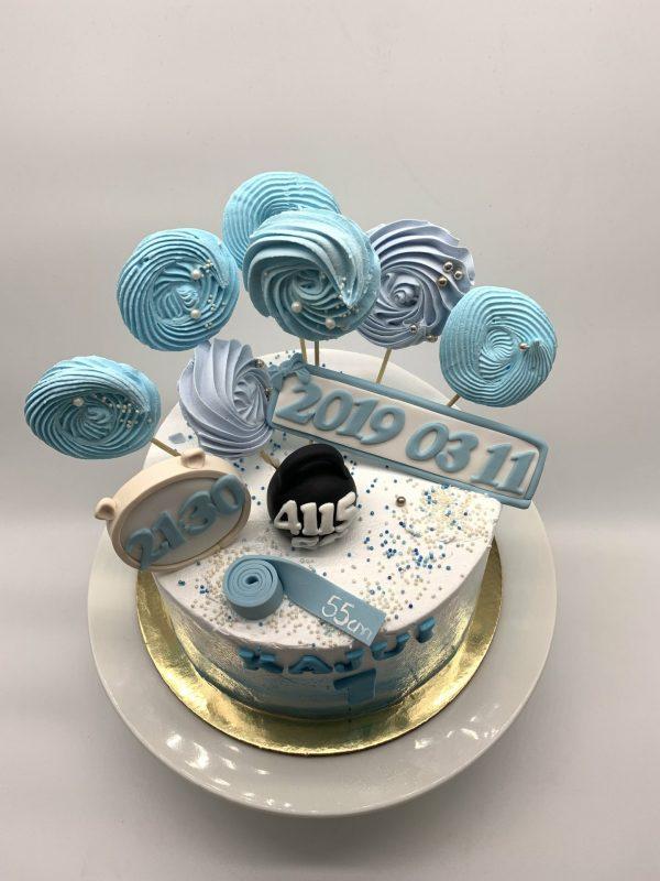 Gimimo dienos tortas