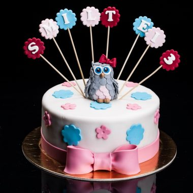 Pelėdžiukės tortas