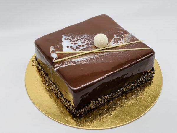 Belgiško šokolado pyragas
