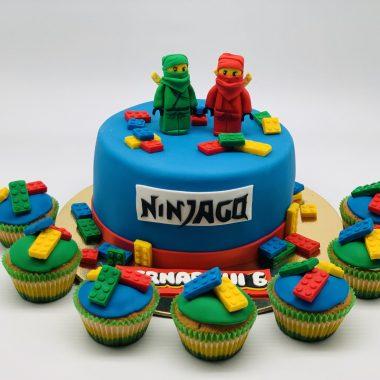 """Vaikiškas tortas """"Ninčago"""""""