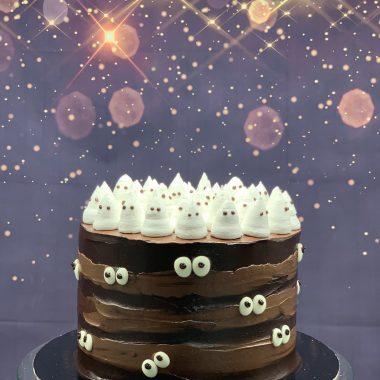 """Vaikiškas """"Vaiduoklių tortas"""""""