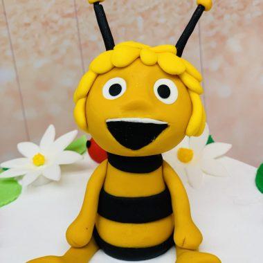 Vaikiškas tortas su bitute