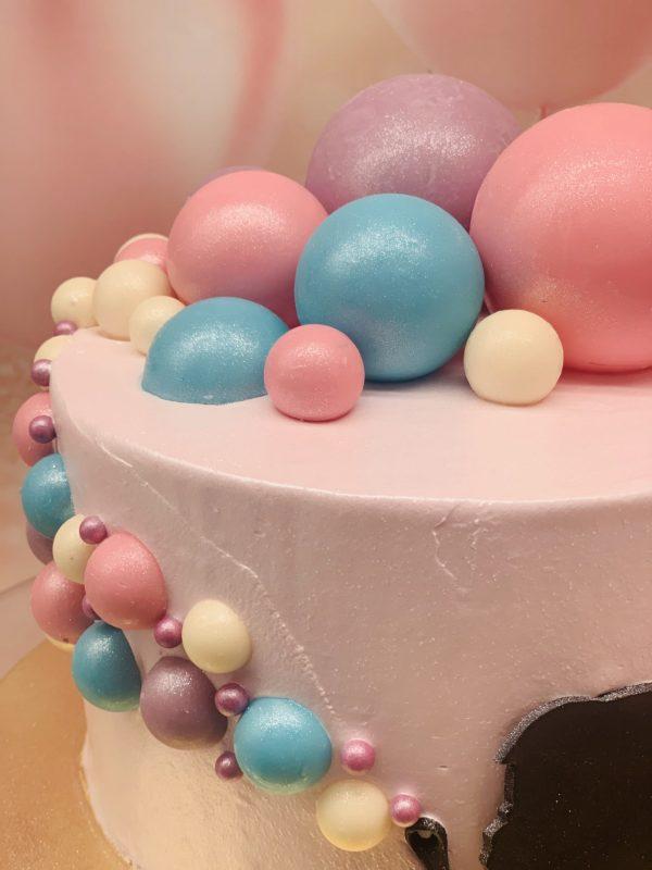 """Vaikiškas tortas """"Muilo burbulai"""""""