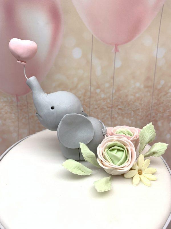 Krikštynų tortas su drambliuku