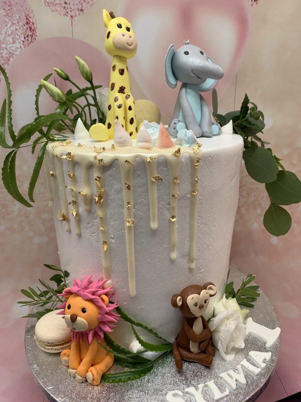 """Vaikiškas tortas """" Zoo 2"""""""