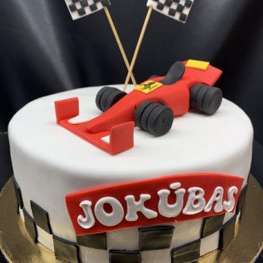Vaikiškas tortas su formule