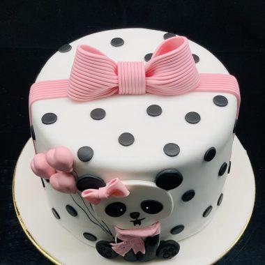 """Vaikiškas tortas """"Pandutė"""""""
