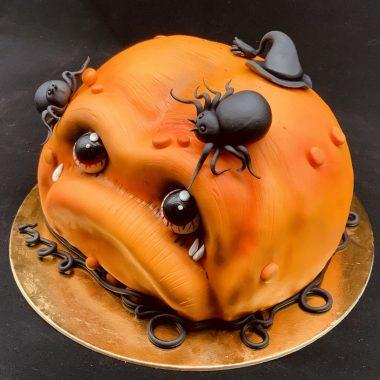 """Vaikiškas tortas """"Moliūgas"""""""