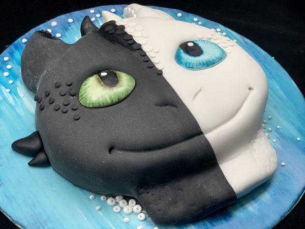 """Vaikiškas tortas """"Slibinas"""""""
