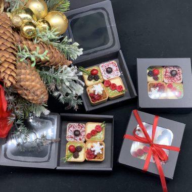 Kalėdinė tartalečių dėžutė