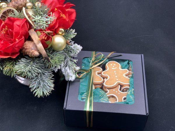 Kalėdinė meduolių dėžutė