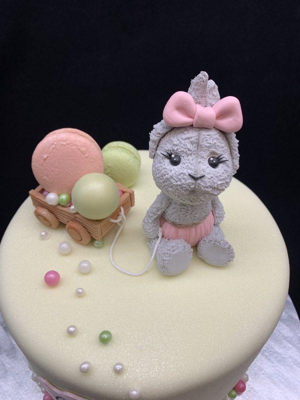 """Vaikiškas tortas """"Zuikytė"""""""