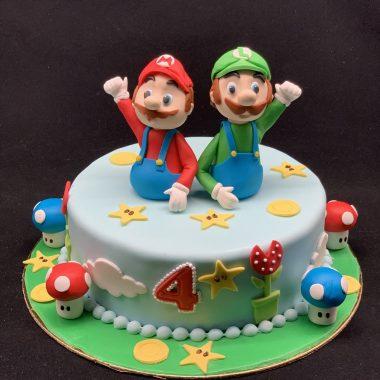 """Vaikiškas tortas """"Mario"""""""