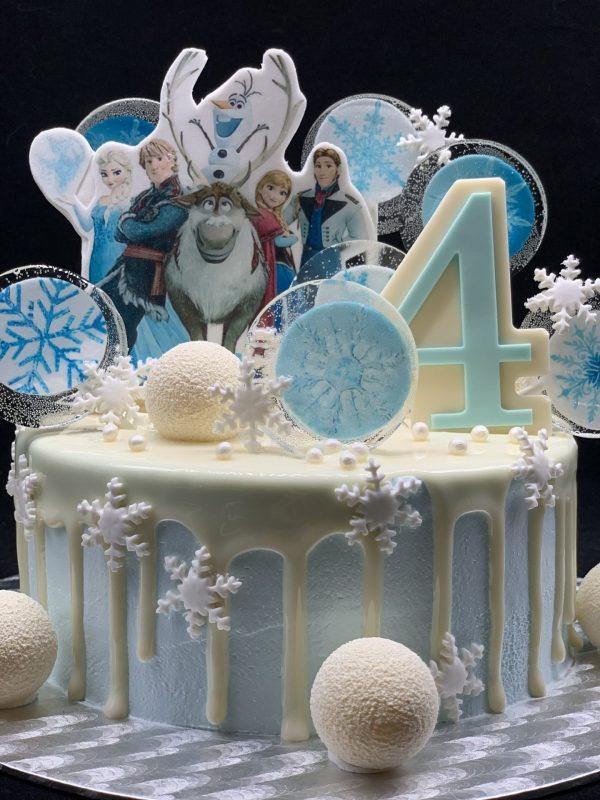 """Vaikiškas tortas """"Ledo šalis"""""""