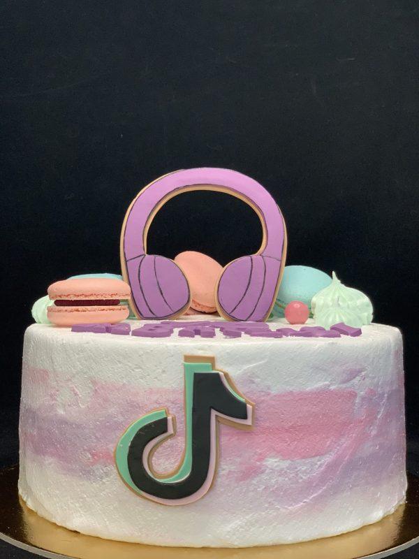 """Vaikiškas tortas """"Tik tok 2"""""""